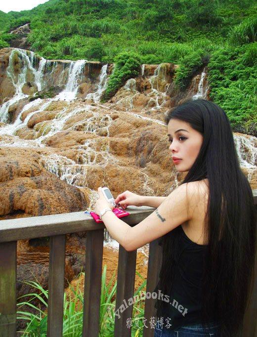 Taiwan Golden Waterfall Romanticism  Photography Yalan雅岚 黑摄会